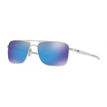 Očala Oakley GAUGE 6 - 6038-0257 Polished Chrome-Prizm Sapphire