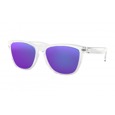 Očala Oakley FROGSKINS - 9013-24-305 Polished Clear-Violet Iridium