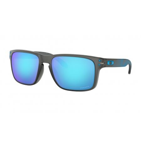 Očala Oakley HOLBROOK - 9102-F255 Aero Grid Matte Grey Smoke-Prizm Sapphire Iridium