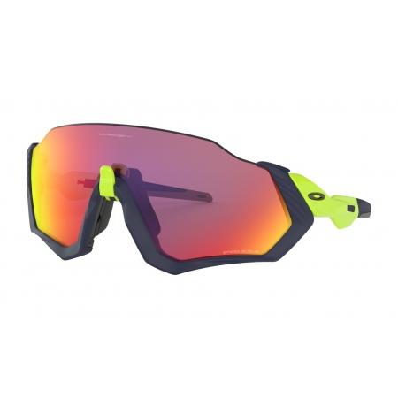 Očala Oakley FLIGHT JACKET - 9401-0537 Matte Navy Retina Burn-Prizm Road