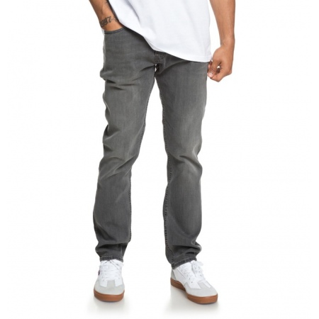 Hlače DC WORKER Straight - Kpvw Medium Grey