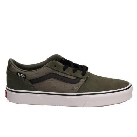 Čevlji Vans CHAPMAN STRIPE (Suede/Canvas) - 0 Dusty Olive-Black