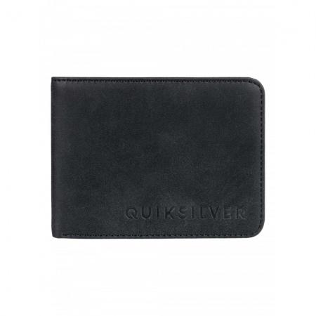 Denarnica Quiksilver SLIM VINTAGE II - Kvj0 Black