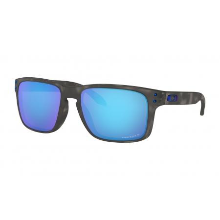 Očala Oakley HOLBROOK - 9102-G755 Matte Black Tortoise-Prizm Sapphire Polarized