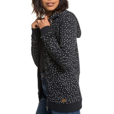 Majica Roxy TRIPPIN PRINTED - Kvj8 True Black Dots For Days