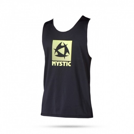 Quickdry Mystic Star Loosefit Tanktop - Black