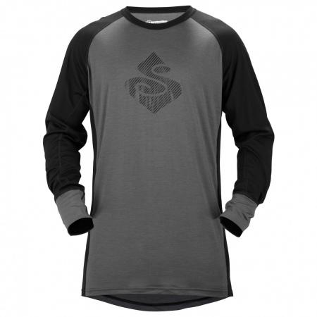 Majica Sweet Protection Alpine Crew 17,5 - Gray-Black