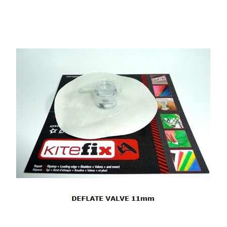 KiteFix DEFLATE VALVE 11mm ventil