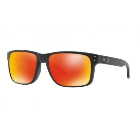 Očala Oakley HOLBROOK - 9102-E255 Matte Black-Prizm Ruby