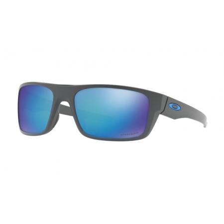 Očala Oakley DROP POINT - 9367-0660 Matte Dark Grey-Prizm Sapphire Polarized