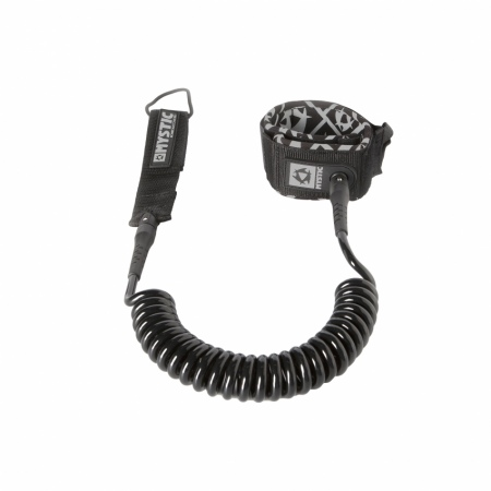 Mystic LEASH SUP COILED - 900 Black