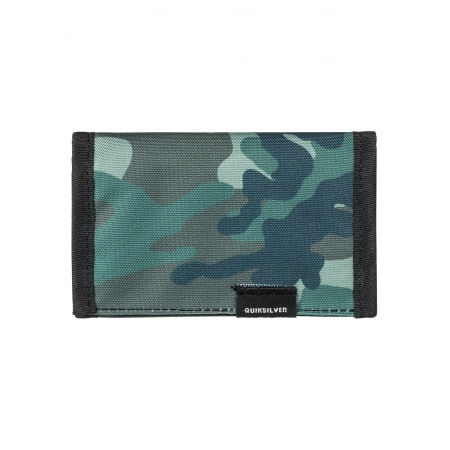 Denarnica Quiksilver THE EVERYDAILY - Cre7 Grape Leaf Scratch Camo