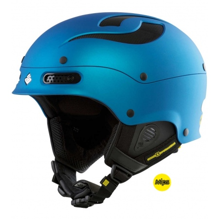 Čelada Sweet Protection TROOPER MIPS - Mbbme Matte Bird Blue Metallic