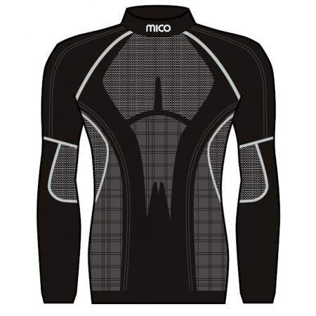 Spodnje Perilo Majica Mico IN 1441 X-static Mock Neck - 007 Nero