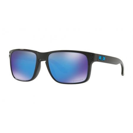 Očala Oakley HOLBROOK - 9102-F555 Polished Black-Prizm Sapphire Iridium