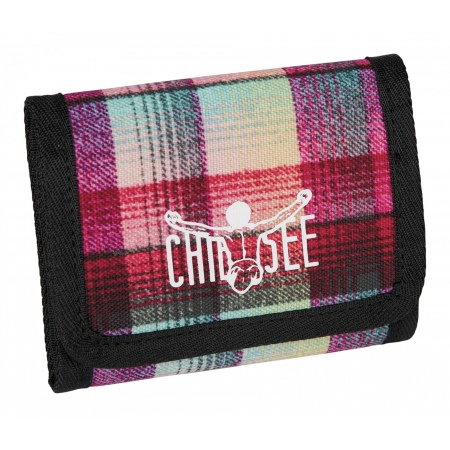 Denarnica Chiemsee WALLET - B1071 Checky Chan Pink