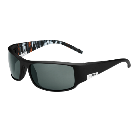 Očala Bolle KING - 0 Matte Black Orange Zebra-Polarized Tns Oleo Af