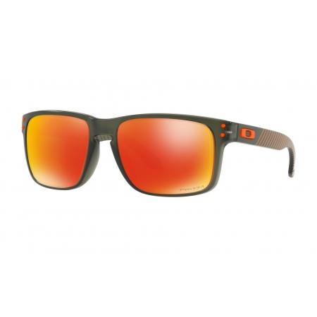 Očala Oakley HOLBROOK - 9102-E755 Matte Olive Ink-Prizm Ruby