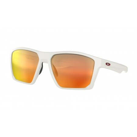 Očala Oakley TARGETLINE - 9397-0358 Matte White-Prizm Ruby