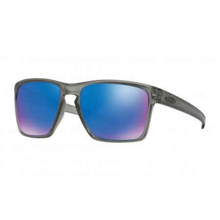 Očala Oakley SLIVER XL - 9341-1857 Matte Grey Ink-Prizm Sapphire Polarized
