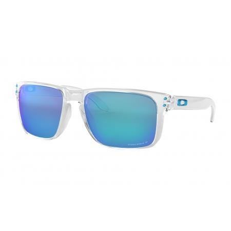 Očala Oakley HOLBROOK XL - 9417-0759 Polished Clear- Prizm Sapphire Polarized