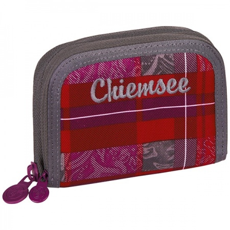 Denarnica Chiemsee TWIN ZIP - K0571 Checky Barberry