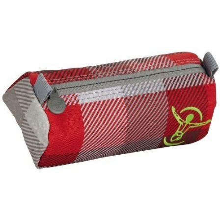 Peresnica Chiemsee THE PEN POCKET - B002 Check Red Truffle