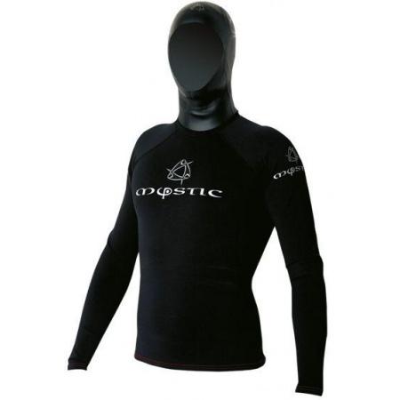 Mystic Majica MATRIX Metalite Hooded LS 1,5 mm - 910 Caviar