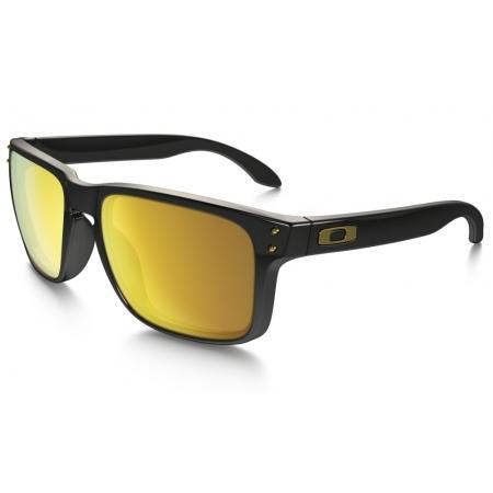Očala oakley HOLBROOK - 9102-E355 Polished Black-24 Iridium
