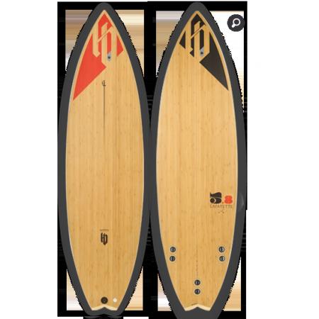 HB-Surfkite Deska LAFAYETTE 5'8'