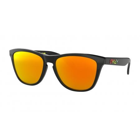 Očala Oakley FROGSKINS Valentino Rossi - 9013-E655 Polished Black-Prizm Ruby