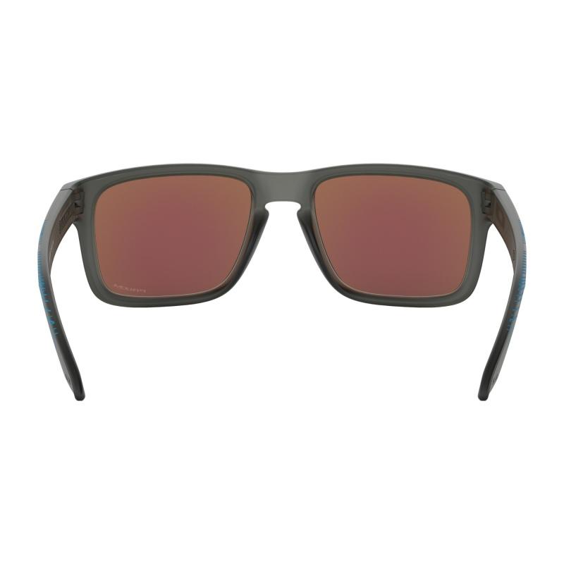 4d386e234b ... Očala Oakley HOLBROOK - 9102-F255 Aero Grid Matte Grey Smoke-Prizm  Sapphire Iridium ...