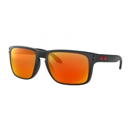 Očala Oakley HOLBROOK XL - 9417-0459 Matte Black-Prizm Ruby