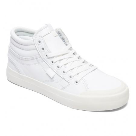 Čevlji DC W EVAN HI LE - Ww0 White-White