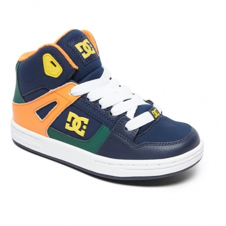 Čevlji DC KID PURE HIGH-TOP - Mul Multi