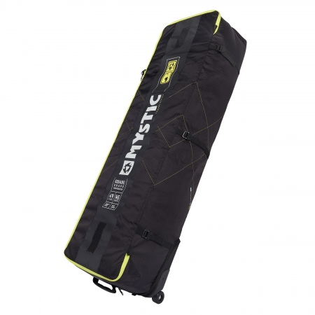 Mystic Torba ELEVATE SQUARE Lightweight Boardbag With Wheels - 900 Black