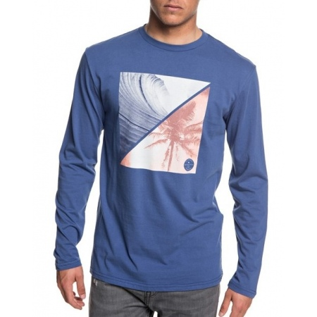 Majica Quiksilver COLOURFUL NIGHT LS - Bng0 Bijou Blue
