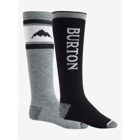 Burton WEEKEND 2 pack Snowboard Sock - 0 True Black