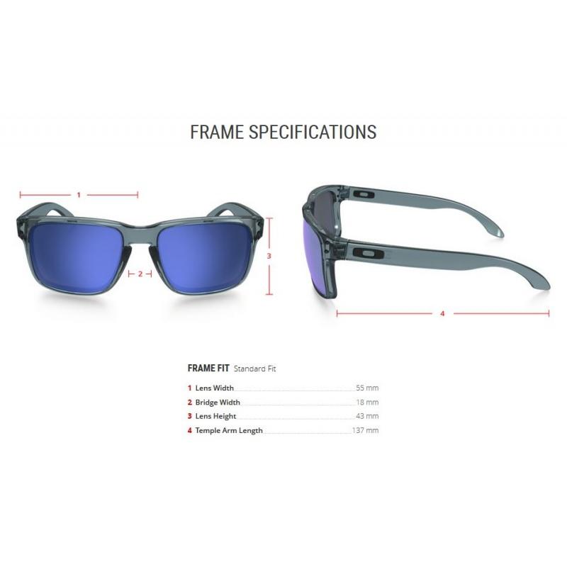 6ac339e1dcfdb Oakley HOLBROOK - 9102-47 Cry.blk-Ice Ir. - Infinity Sport ...