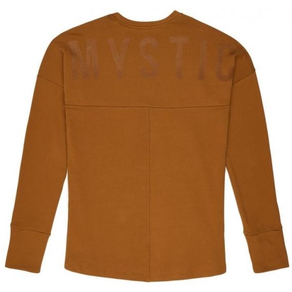 Majica Mystic MILLER LS - 704 Golden Brown