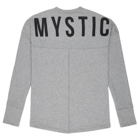 Mystic MILLER Sweat LS - 863 December Sky Melee