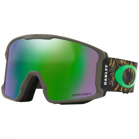 Očala Oakley LINE MINER - 7070-3801 Camo Vine Jungle-Prizm Snow Jade Iridium