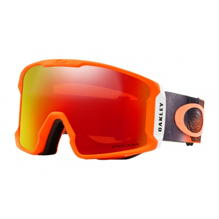 Očala Oakley LINE MINER - 7070-3701 Mystic Flow Neon Org-Prizm Snow Torch Iridium