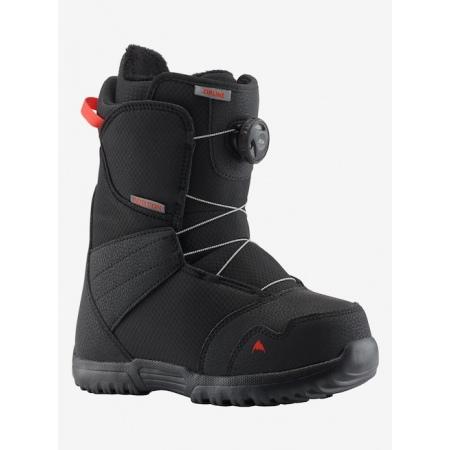 Snowboard Čevlji Burton KID ZIPLINE Boa - Black