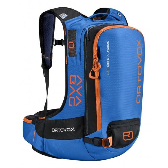 Nahrbtnik Ortovox FREE RIDER 22l Avabag - Safety Blue