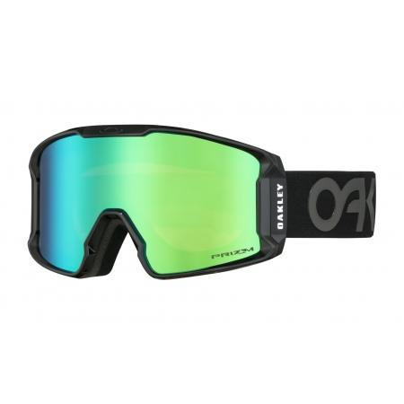 Očala Oakley LINE MINER XM - 7093-12 Factory Pilot Blackout-Prizm Jade Iridium