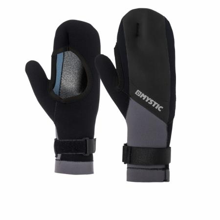Mystic Rokavice MSTC OPEN PALM MITTEN 1,5mm - 900 Black