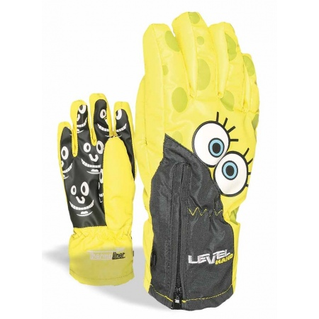Rokavice Level LUCKY Junior - Yellow