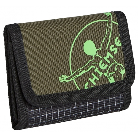 Denarnica Chiemsee WALLET - 9010 Square Black & White