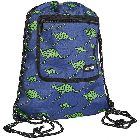 Nahrbtnik Chiemsee DRAWSTRING BAG - 4865 Dark Denim Kangaroo